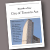 Towards a New City of Toronto Act cover